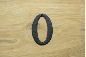 "0 Black 4"" Mailbox House Number 450150 Product Image"