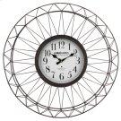 Grand Hotel Metal Ornament Wall Clock Product Image