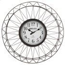 Grand Hotel Metal Ornament Wall Clock Product Image