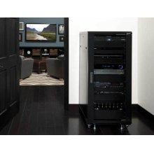 """55"""" Tall AV Rack 27U Component rack for home theater equipment"""