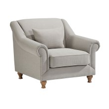 Flannel Rose Hill Chair