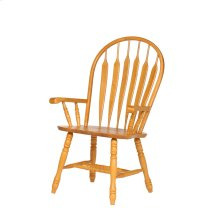 DLU-4130-LO-A  Comfort Dining Arm Chair in Light Oak