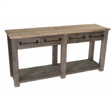 Sofa Table W/ 4-Drawers