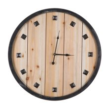 Rustic Roaming Clock
