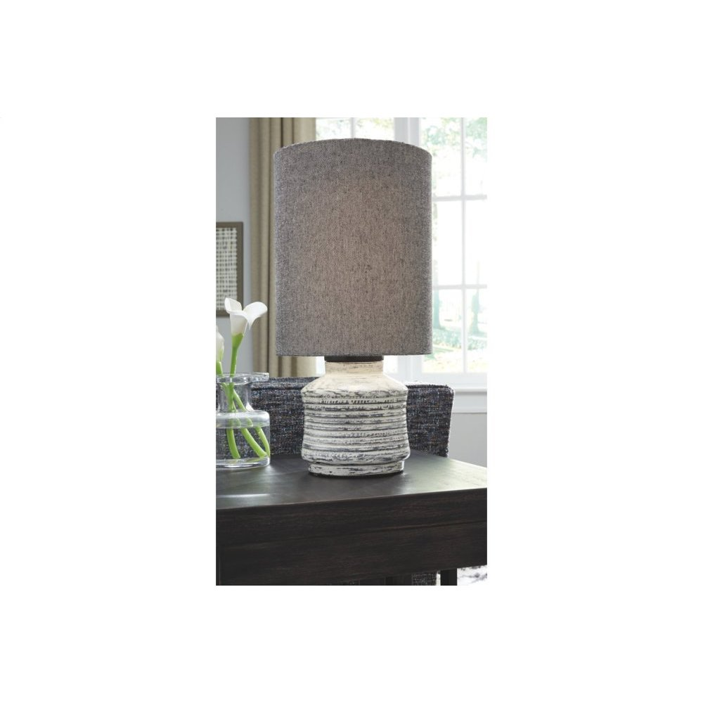 Terracotta Table Lamp (2/CN)