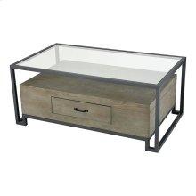 Mezzanine Coffee Table In Pewter
