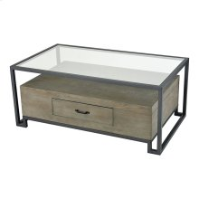 Mezzanine Coffee Table In Pewter