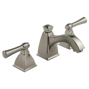 Widespread Lavatory Faucet With Curve Spout Product Image