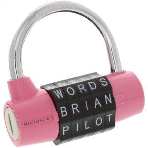 5-Dial Combination Padlock (Pink) Product Image