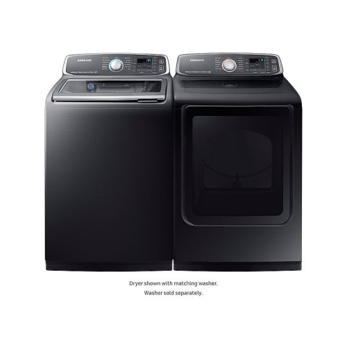 7.4 cu. ft. Electric Dryer in Black Stainless Steel