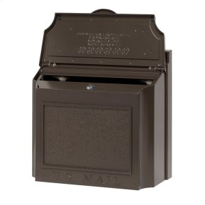 Wall Mailbox - French Bronze Product Image