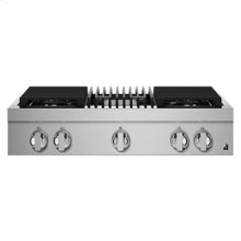 """NOIR 36"""" Gas Professional-Style Rangetop with Grill"""