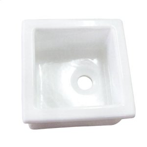 """13"""" Fireclay Utility Sink Product Image"""
