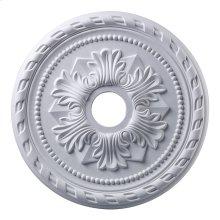Corinthian Medallion 22 Inch in White Finish