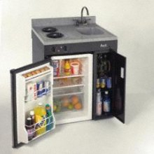 Model CK30B - Compact kitchen w/refrig