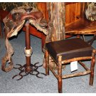 Horseshoe Saddle Bar Stool Product Image