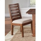 Upholstered Ladderback Side Chair Product Image