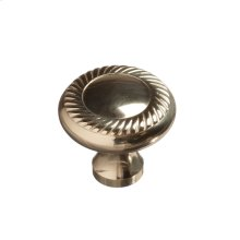 "1 1/4"" Rope Knob - Polished Brass"