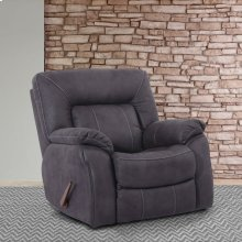 Caesar Slate Manual Glider Recliner