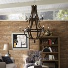 Trebuchet Chandelier in Brown Product Image