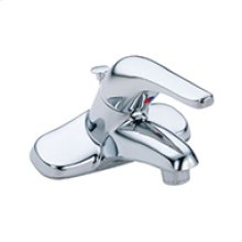Chrome Discontinued - Maxwell® Se Single Handle Lavatory Faucet W/ Plastic Pop-up Drain 1.2GPM