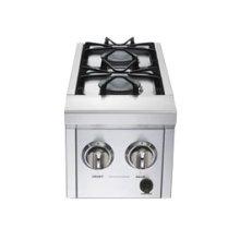 Pro Series double side burner w/ 30,000 BTUs - LP
