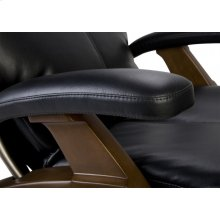 PC-075 Perfect Chair ® Silhouette Power Zero-Gravity Recliner - Dark Walnut