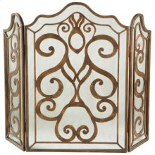 Tiger Lily 3-Panel Fireplace Screen