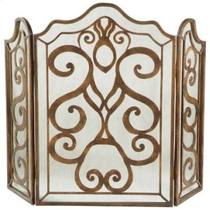 Tiger Lily 3-Panel Fireplace Screen Product Image