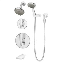 Symmons Naru® Tub/Shower/Hand Shower System - Polished Chrome