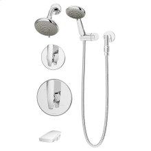 Symmons Naru® Tub/Shower/Hand Shower System - Polished Chrome