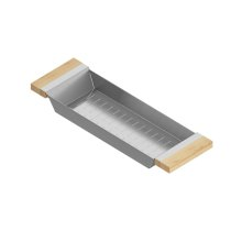 Colander 205319 - Stainless steel sink accessory , Maple