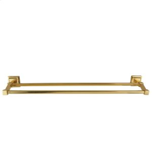 "Stanton Double Towel Bar - 18"" / Antique Brass Product Image"