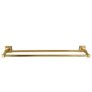 "Stanton Double Towel Bar - 18"" / Antique Brass Product Image"