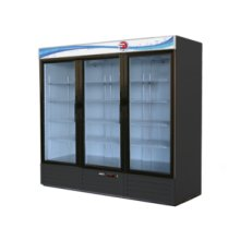 Swing door merchandisers