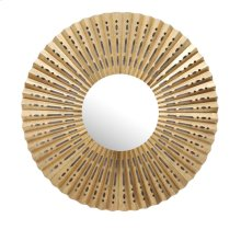 Gold Fan Frame Mirror, Wb