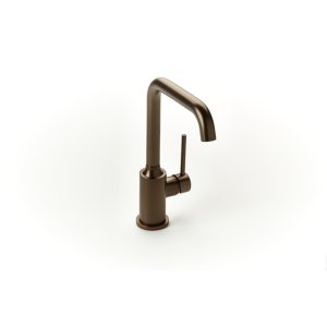 Taos Single-hole Basin Faucet - Bronze