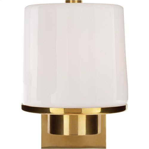 Visual Comfort BBL2094SB-WG Barbara Barry Sumo 1 Light 6 inch Soft Brass Bath Wall Light