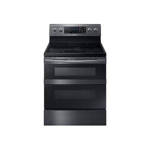 5.9 cu. ft. Freestanding Electric Range with Flex Duo™ & Dual Door in Black Stainless Steel Product Image