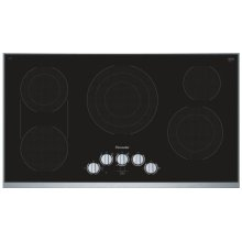 36 inch Masterpiece® Series Electric Cooktop CEM366TB