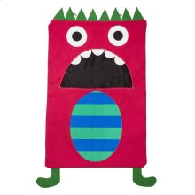 Red Monster Laundry Bag