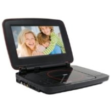 """Portable DVD Player with 9"""" Screen"""