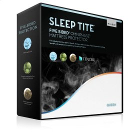 Five 5ided Mattress Protector with Tencel   Omniphase - Queen
