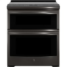 "GE Profile™ 30"" Smart Slide-In Electric Double Oven Convection Range"