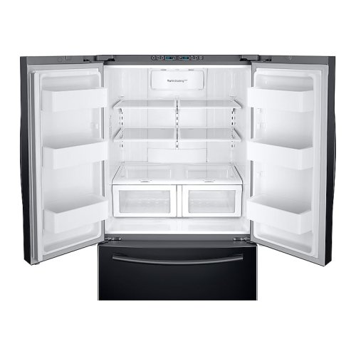 26 cu. ft. French Door Refrigerator with Twin Cooling Plus in Black