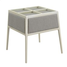 End Table W/tempered Glass