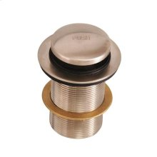 Extended Push Button Assembly - Brushed Nickel