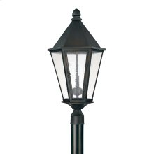 3 Light Outdoor Post Lantern