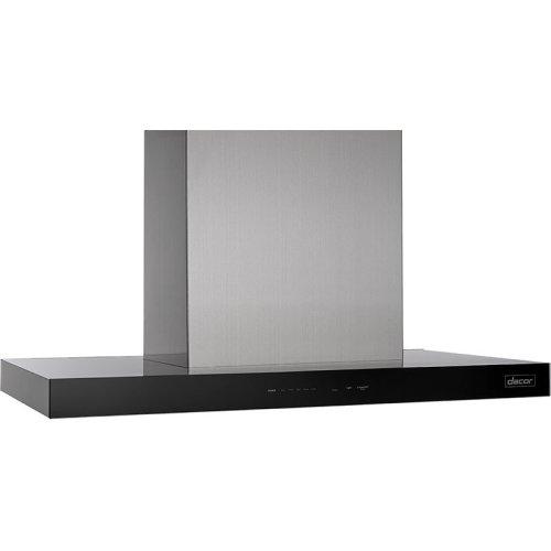 "Modernist 48"" Island Hood, Silver Stainless Steel, 1,200 CFM"