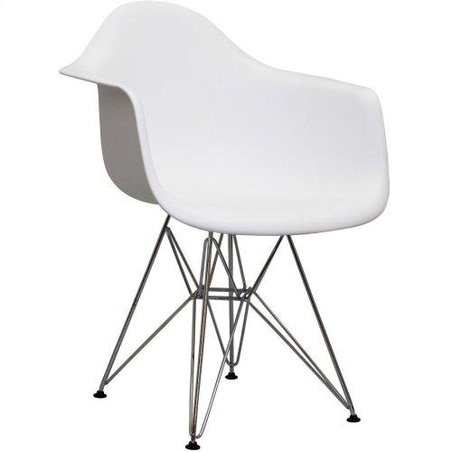Paris Dining Armchair in White